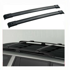 For 2003-08 Honda Pilot Roof Rack Cross Bars Set Luggage Carrier OE Style Black