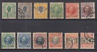 AP5441/ DANISH WEST INDIES – 1905 / 1907 USED SEMI MODERN LOT – CV 195 $