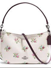 Fab COACH Chelsea Dark Chalk Leather Shoulder Bag RRP £275