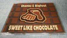 Shanks & Bigfoot - Sweet Like Chocolate - 4 Track Cd Single 1999 Pepper / Jive