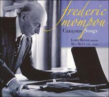 MOMPOU: SONGS NEW CD