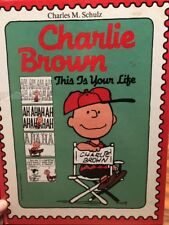 Peanuts Charlie Brown Book This Is Your Life Hardcover