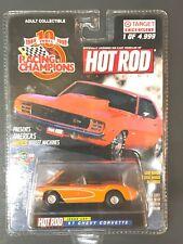 Racing Champions Target '57 Chevy Corvette orange Hot Rod Magazine Exclusive