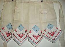 Vintage Sweet Organza Handkerchief Apron 1950's