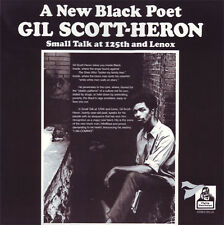 "GIL SCOTT HERON "" SMALL TALK AT 125TH & LENOX "" SEALED U.S.LP 180 GRAM GATEFOLD"