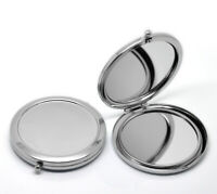 Folding Pocket Compact Make Up Mirror Cosmetic Magnification Flip Double Sided