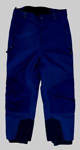 Columbia Womens Omnitech Blue Snow Ski Waterproof Pants Size XL W34 L32