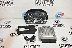 BMW 3 Series E90 E91 E92 E93 2007-13 Petrol N43B20A 318i Engine ECU Kit CAS Keys