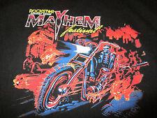 2013 MAYHEM FESTIVAL (XL) T-Shirt ROB ZOMBIE Five Finger Death Punch MASTODON