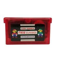 150 in 1 NES Retro Games Gameboy Advance SP Classic MARIO ZELDA Video Games Card