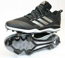 Adidas Litestrike Baseball Cleats Metal Black Men's Size 13.5