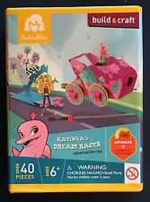 Katinka's Dream Racer Building Toy Goldie Blox Build & Craft Adv II 40 pcs New