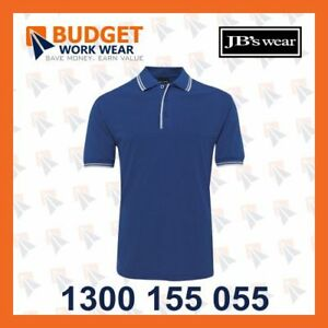 Jb's Contrast Polo - Adults(2CP)