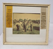 Antique Vintage Americana African American Carnival Circus Photograph Awarded