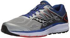 NIB Saucony Omni 16 Men's Running Shoes Size 11 US M Grey Navy Orange