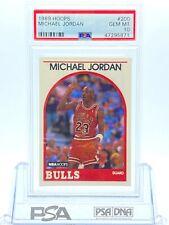 1989 Hoops Michael Jordan PSA 10 Bulls