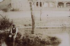"""Photo German colonies South West Africa DSWA """"Boy in amaruru"""""""