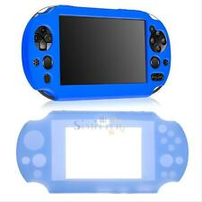 Protective Soft Silicone Case Cover Skin for Sony PlayStation PS Vita PSV Blue