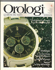 RIVISTA OROLOGI 2/88 TECNICA CRONOGRAFI VENEZIA TORRE DELL'OROLOGIO CASE D'ASTA
