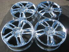 "SET OF 4 FACTORY 20"" ACURA MDX OEM CHROME WHEELS RIMS ZDX  RIDGELINE PILOT  2018"