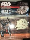 Star Wars MicroMachines The Tie Fighters And Millennium Falco New In Package