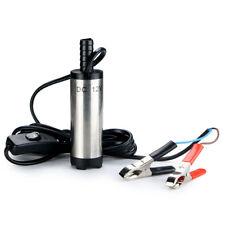 Submersible Pump 38mm Water Oil Diesel Fuel Transfer Refueling Tool DC 12V