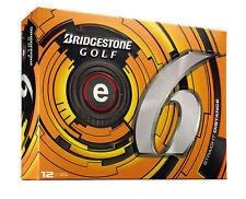 6 Dozen Brand New Bridgestone E6 White Golf Balls Premium 6dz e 6 72 balls