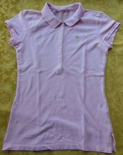 Aeropostale Polo Top - Pink - Short Sleeve - Collar - Size Medium