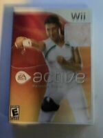 ACTIVE PERSONAL TRAINER - WII - COMPLETE W/ MANUAL - FREE S/H - (B54A)