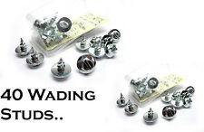 2x Packs (=40) Wader Studs for Waders, Wading Boots, Wellies RRP £11.98 (STUD)