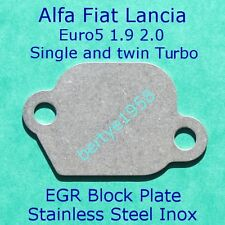 EGR Valve Blanking Plate 1.9L 2.0L JTDM Fiat Alfa Lancia Single and Bi-Turbo B