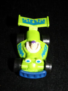 DISNEY/PIXAR HASBRO BUZZ LIGHTYEAR TOY STORY PULL BACK RACE CAR & red truck