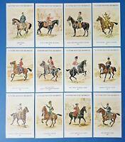 The British Army Scottish Mounted Reg. Postcards Set of 12 by Geoff White Ltd