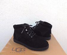 UGG BLACK BETHANY CLASSIC SLIM SUEDE/ SHEEPSKIN BOOTS, US 7.5/ EUR 38.5 ~ NIB
