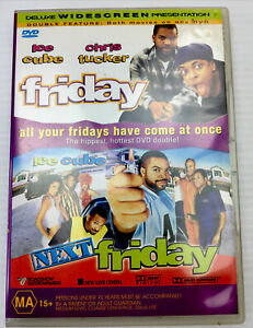 Friday & Next Friday Double Feature Ice Cube DVD R4 PAL MA15+