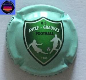Capsule de Champagne GROSJEAN BERTRAND Cuvée U.S Football Avize-Grauves Non Réf