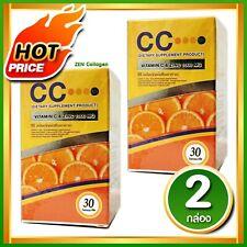 2 x CC Vitamin C & Zinc 1000 MG.reduce acne strengthen immunity Tighten pores