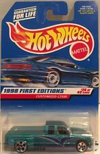 NIP! Hot Wheels ~ CUSTOMIZED C3500 ~ 1998 First Edition #663 Diecast Truck 1:64
