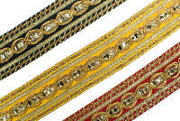 03 Cm wide Braid Trim - Upholstery Edging Border Sew Crafts Gimp Costume  T396