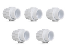 """Swimming Pool ABS Pipe Fittings - 1.5"""" Socket Union x 5"""