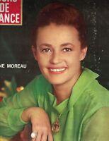 Jours de France September 25 1965 Jeanne Moreau Brigitte Bardot