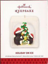 "Hallmark 2013 ""HOLIDAY ON ICE""    Penguin Pals    **NEW**  QXG1765"
