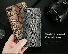 Crocodile Snake Leather Case Luxury Phone Cover For iPhone XS MAX XR 7 8 6 5S SE