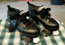 Chicago Mens Bullet Black Speed Skates - Size 9 Roller Derby
