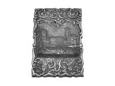 Carte argent victorien cas 1860