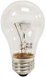 GE Ceiling Fan Fridge Oven Multi Use A15 Crystal Clear Bulbs 40W 60W Multi Packs