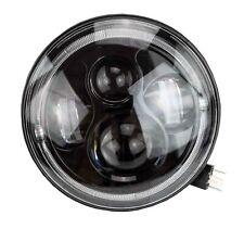 """7 """" Zoll - 178 mm  LED Scheinwerfer rund zugelassen mit E-Nummer"""