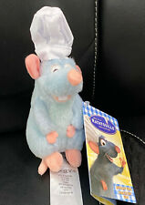 Disney Parks Shoulder Chef Remy from Ratatouille  Plush Doll NEW