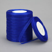"New 50 Yards 3/8""10mm Satin Edge Sheer Organza Ribbon Bow Craft Wedding  B-K15"