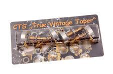 "CTS ""TVP"" True Vintage Taper 500k Long Shaft orrecguitarparts calibrated Set (4)"